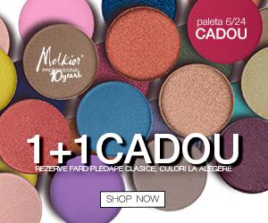 Melkior - 1+1 CADOU rezerve fard pleoape