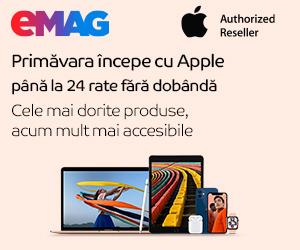 eMAG - Campanie Apple Week
