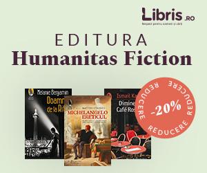 - Humanitas Fiction – 20% reducere in luna martie