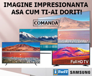ForIT - Imagine impresionanta asa cum ti-ai dorit! Super TV-uri Samsung.