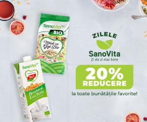 Vegis - Alimentatie echilibrata cu OFERTELE SanoVita!