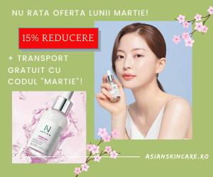 Asianskincare - 15% reducere Ample:N_luna martie