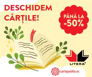 Cartepedia - Deschidem cartile Litera! Avem pana la -50%!