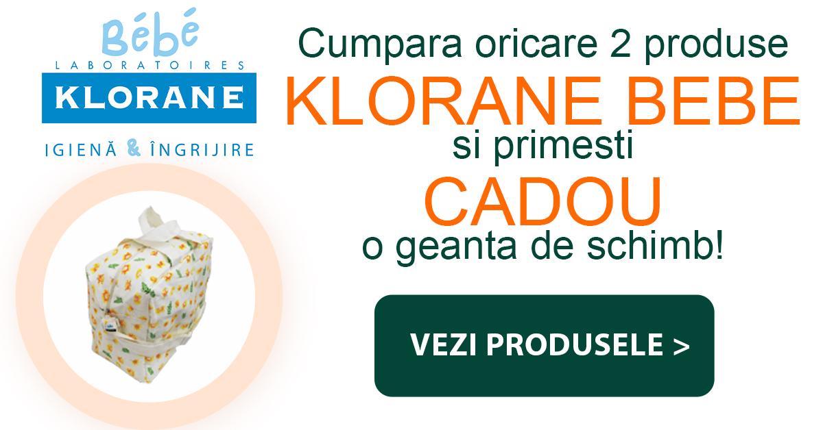 Helpnet - Campanie Klorane Bebe – produs Gratuit