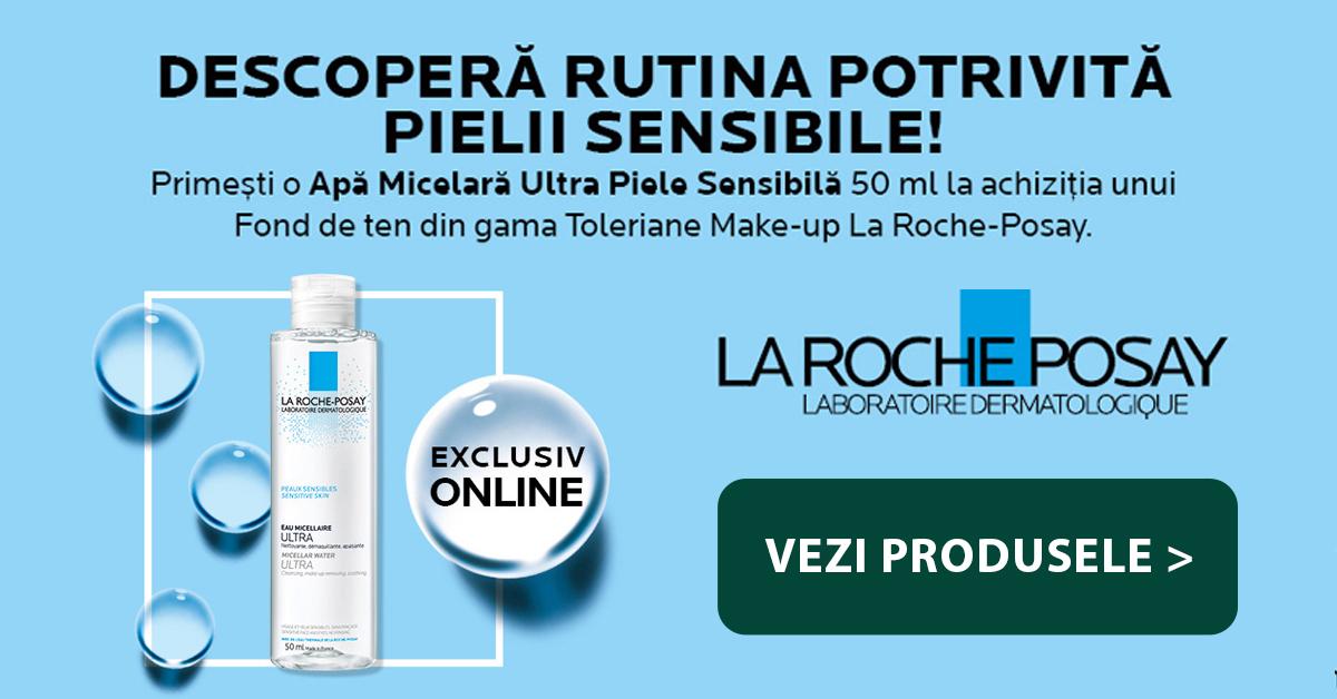 Helpnet - Campanie La Roche Posay – produs Gratuit