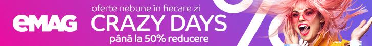Campanie reduceri Crazy Days eMAG