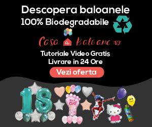 Casacubaloane - Baloane latex 100% Biodegradabile