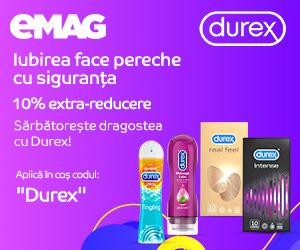 eMAG - Durex 10%