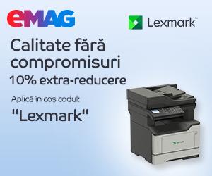 eMAG - Imprimante Lexmark 8-15 martie