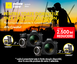 YellowStore - Pentru toate dorintele tale creative cu Nikon!