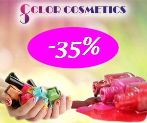 Colorcosmetics - Reduceri de pana la 35% la oje!