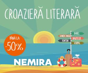 📚 Pana la 50% reducere la Croaziera literara cu Nemira 👍