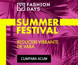 Summer Festival – reduceri semnificative pentru produsele din shop