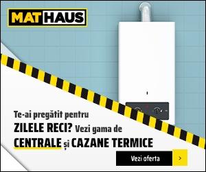MatHaus - Te-ai pregatit pentru zilele reci? Vezi gama de centrale termice